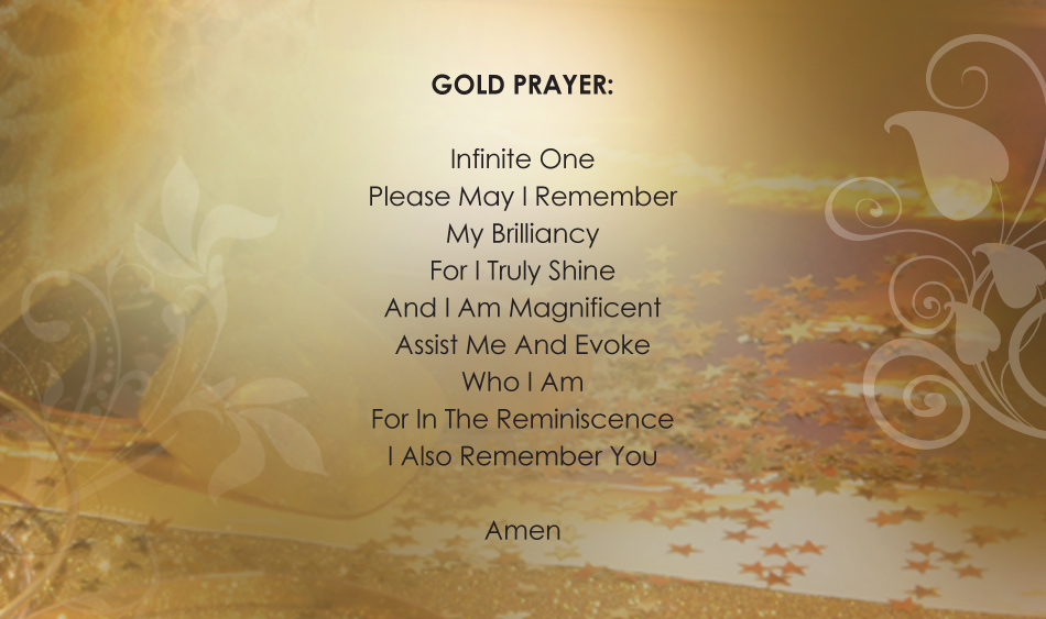 GOLD PRAYER